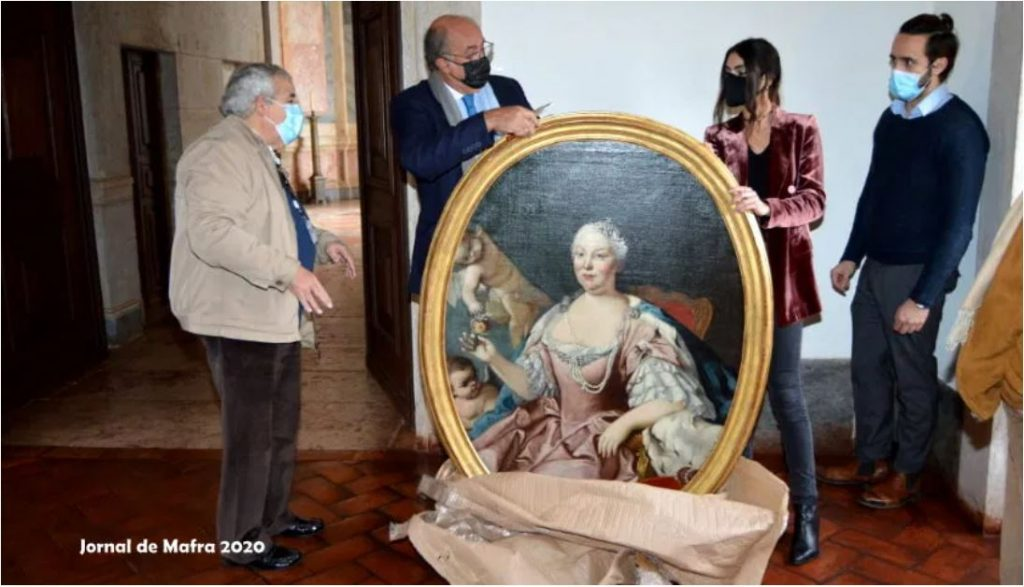 Infanta Maria barbara voltou ao palacio de mafra